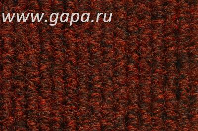 Грязезащитный ковер Metall красный