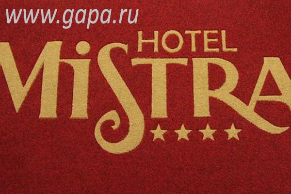 влаговпитывающий ковер с логотипом